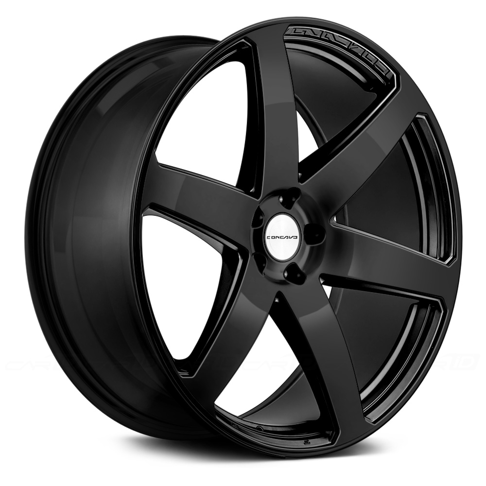 CONCAVO CW-6 Gloss Black