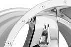 FUEL FULL BLOWN DEEP LIP Chrome PVD