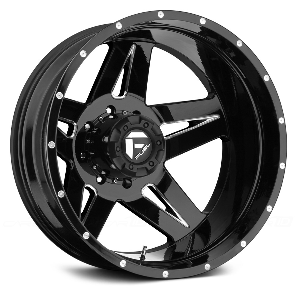 FUEL FULL BLOWN DUALLIE 2PC Black with Milled Accents