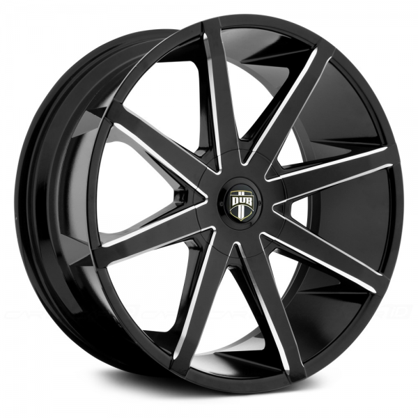 DUB PUSH Black with Milled Accents