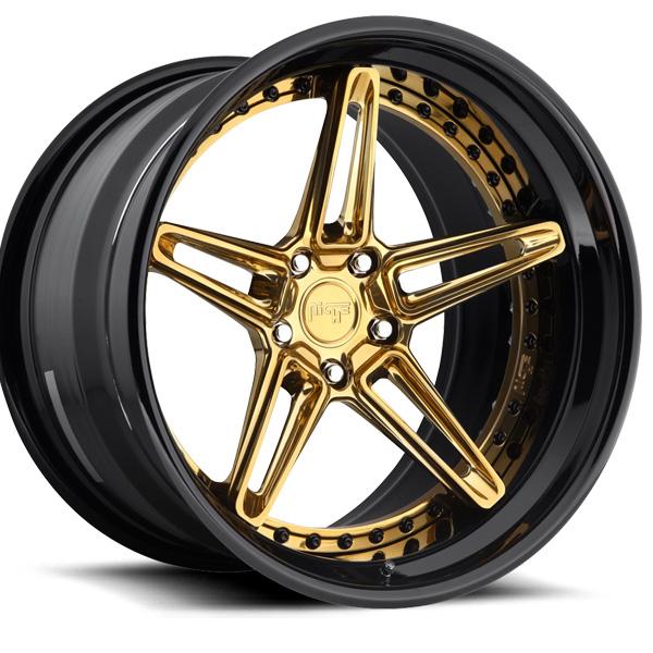 NICHE VERSAILLES Hi Luster Monaco Copper Clear /Black