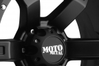 MOTO METAL MO967 Satin Black with Clear Coat