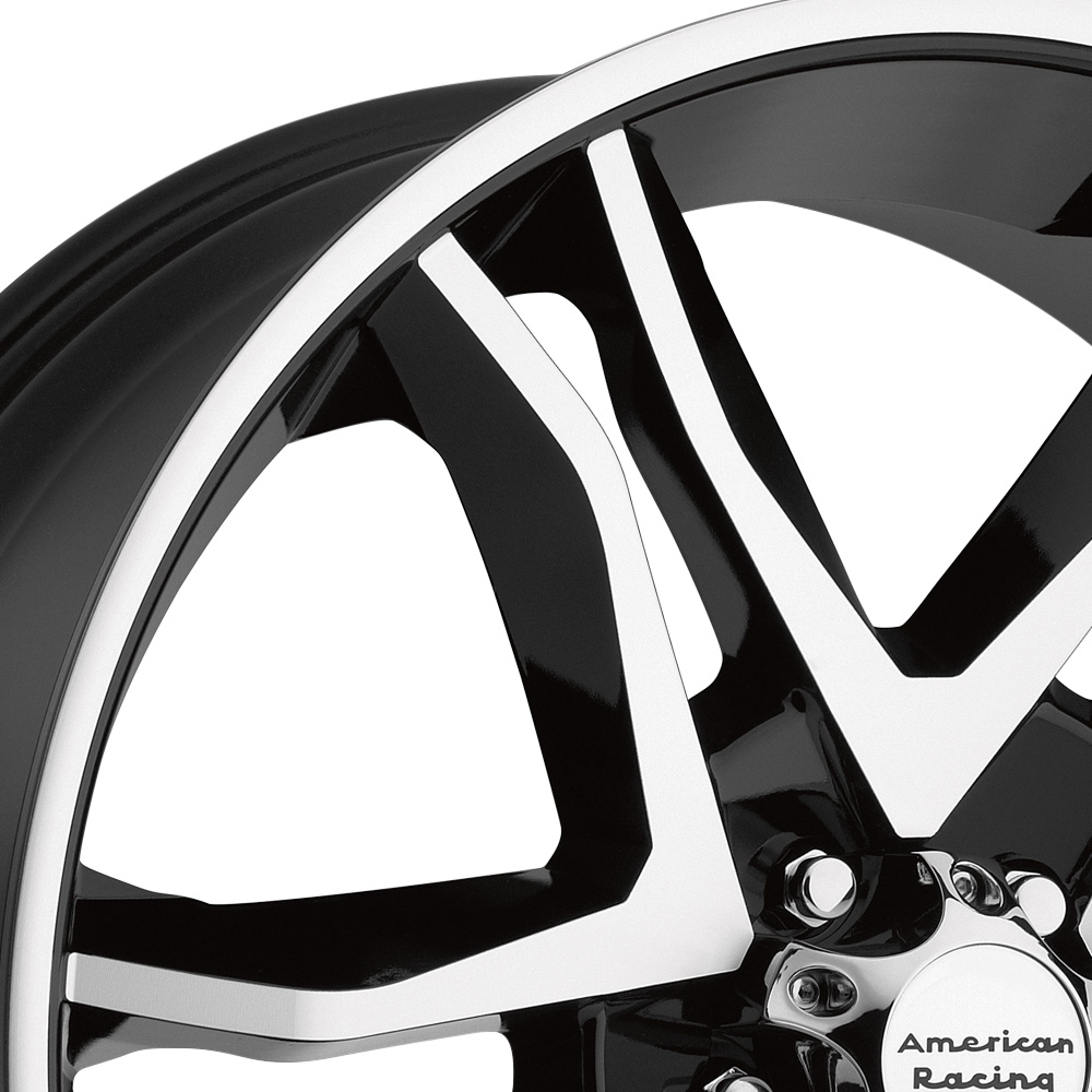 AMERICAN RACING AR893 MAINLINE Gloss Black with Machined Face