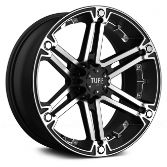 TUFF - T01 Flat Black with Machined Face