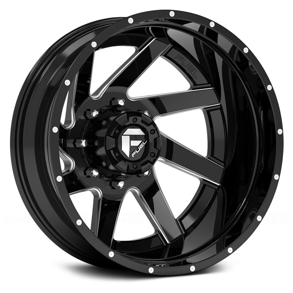 FUEL RENEGADE DUALLIE 2PC Gloss Black with Milled Accents