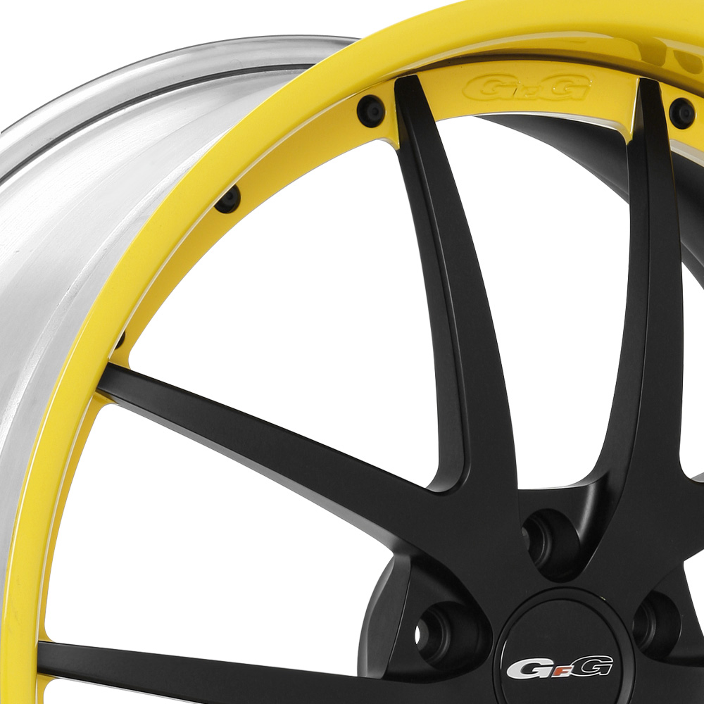 GFG FIORANO Solid Color Center with Matching Lip