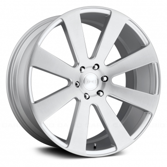 DUB - 8 BALL Brushed Silver