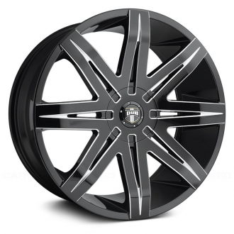 DUB - STACKS Gloss Black with Milled Accents
