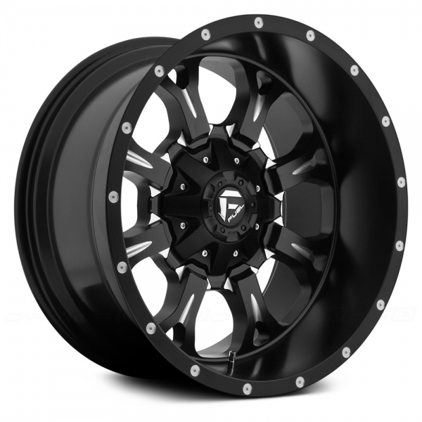 FUEL KRANK DEEP LIP Black with Milled Accents