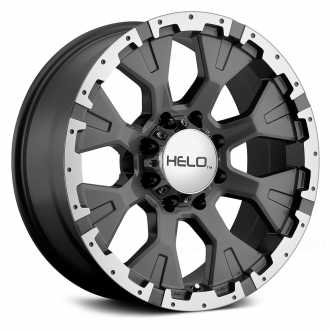 HELO - HE878 Dark Silver with Machined Face