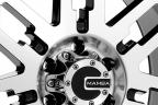 MAMBA M2X Gloss Black with Machined Face