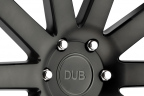 DUB SHOT CALLA Matte Black with Machined Face and Double Dark Tint