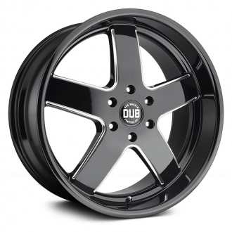 DUB - BIG BALLER Gloss Black with Milled Accents