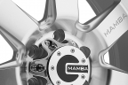 MAMBA M14 Silver with Machined Face