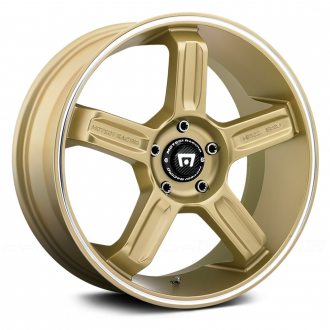 MOTEGI RACING - MR122 Gold with Machined Groove
