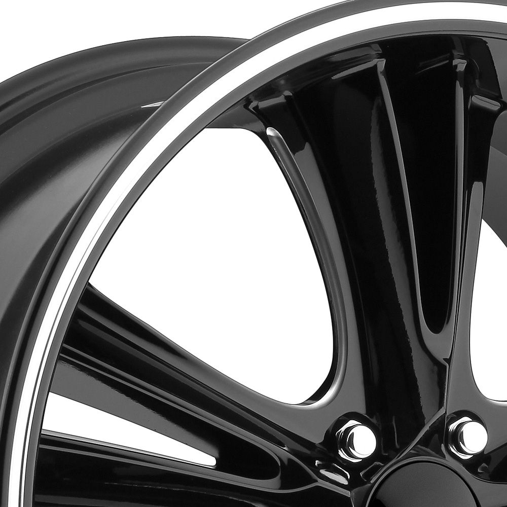 FOOSE KNUCKLE BUSTER Black with Milled Groove