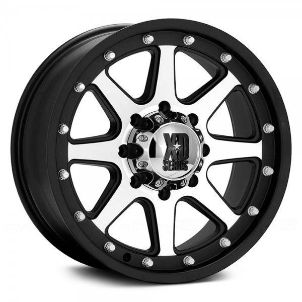 KMC XD SERIES XD798 ADDICT Matte Black with Machined Face