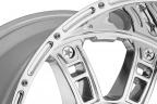 KMC XD SERIES XD809 RIOT Chrome