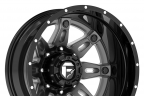 FUEL HOSTAGE II DUALLIE 2PC Gloss Black with Antracite Center