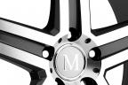 MANDRUS MANNHEIM Gunmetal with Mirror Cut Face and Lip
