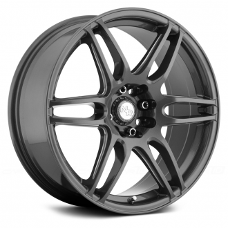 NICHE - NR6 Anthracite with Milled Spokes