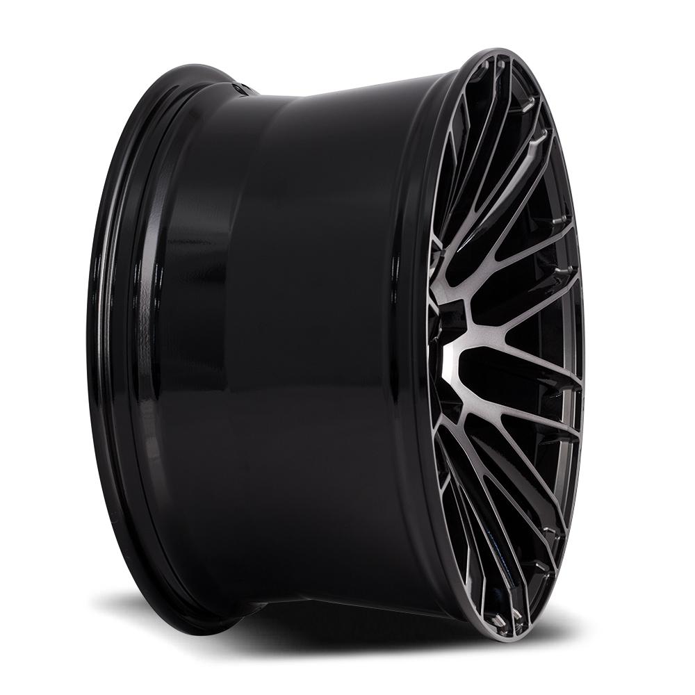 SAVINI BM-13 Gloss Black with Double Dark Tint