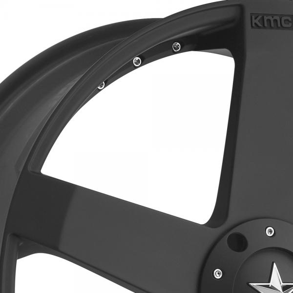 KMC KM775 ROCKSTAR CAR Matte Black