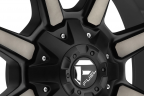 FUEL COUPLER Black with Machined Face and Double Dark Tint