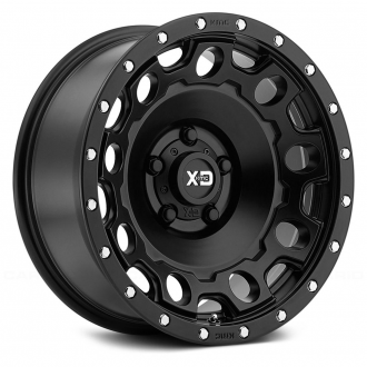 KMC XD SERIES - XD129 HOLESHOT Satin Black