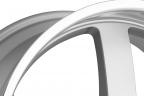 BEYERN RAPP Silver with Mirror Machined Cut Lip