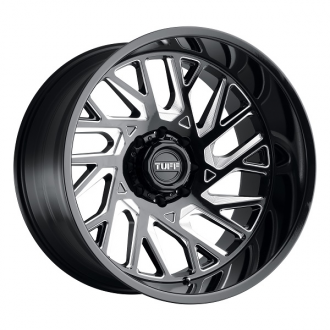 TUFF - T4B Gloss Black with Milled Spokes