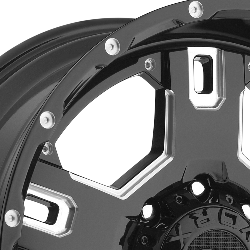 WORX 802BM HAVOC Gloss Black with Milled Accents