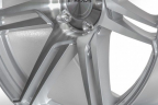 CONCAVO CW-S6 Gloss Silver with Machined Face