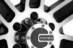 MAMBA M1X Matte Black with Machined Face
