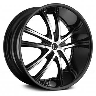 2 CRAVE - NO.24 Gloss Black with Machined Face