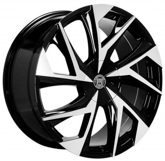LEXANI - GHOST Gloss Black with Machined Face