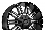 MKW OFF-ROAD M80 Gloss Black with Machined Face