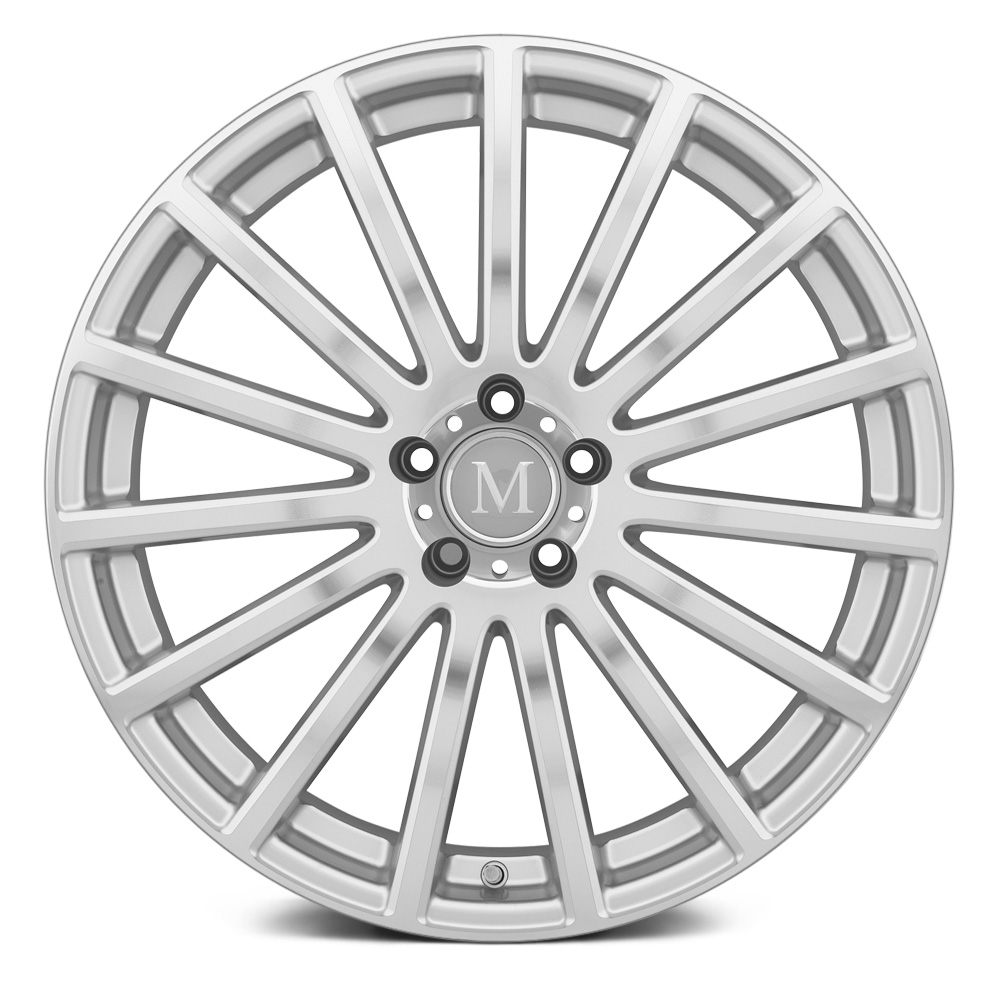 MANDRUS ROTEC Silver with Machined Face