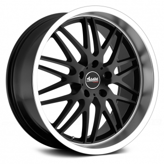 ADVANTI RACING - KUDOS Matte Black with Machined Lip