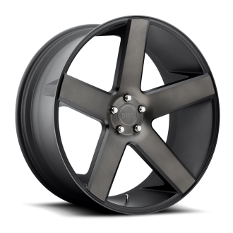 DUB - BALLER Black with Machined Face and Dark Tint