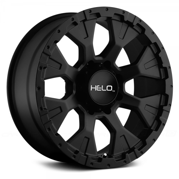 HELO HE878 Satin Black