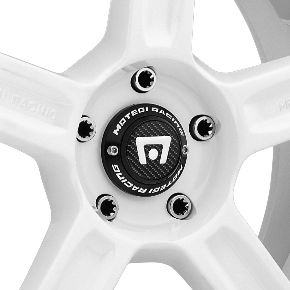 MOTEGI RACING MR122 White with Machined Groove