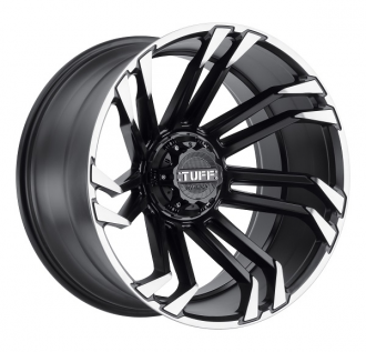 TUFF - T21 Matte Black with Machined Flange
