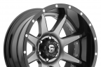 FUEL RAMPAGE Black with Gunmetal Face