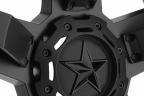 KMC XD SERIES XD811 ROCKSTAR 2 Satin Black