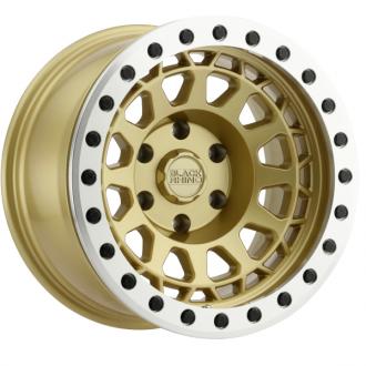 BLACK RHINO - PRIMM BEADLOCK Matte Gold with Machined Ring