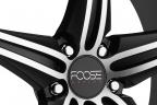 FOOSE SPEED Black Machined