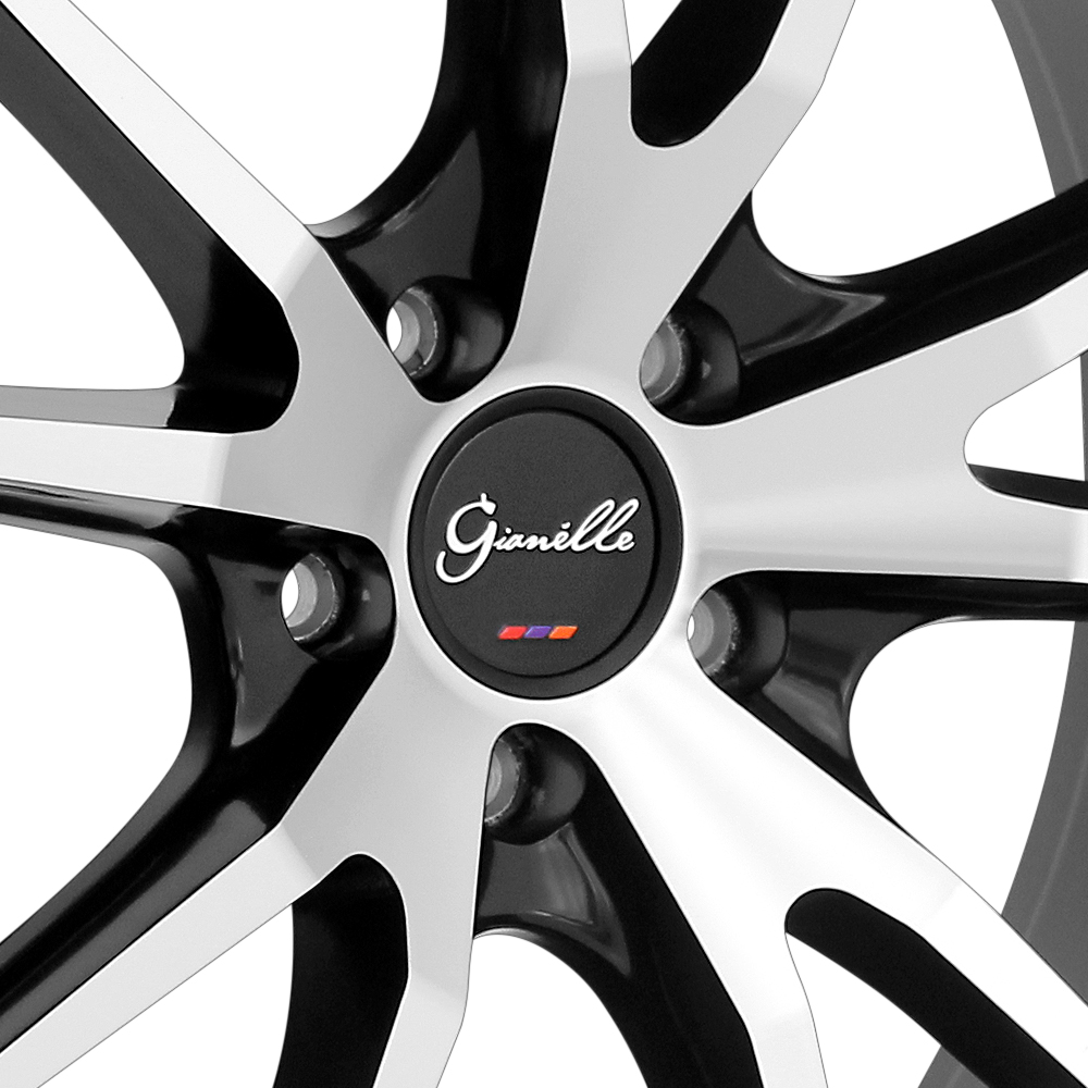 GIANELLE DAVALU Black with Machined Face