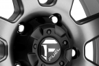 FUEL TROPHY Graphite with Matte Black Bead Ring