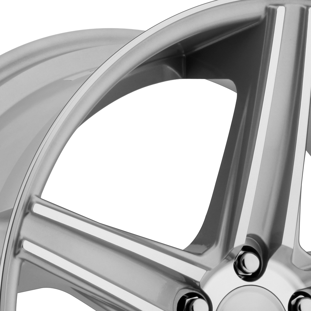 NICHE APEX Silver with Machined Spokes